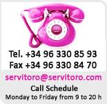 phone 0034 963308693